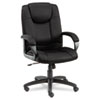 Logan Series Mesh High-Back Swivel/Tilt Chair, Black