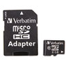 Verbatim MicroSD Card with SD Adapter