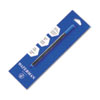 WAT54096P Refill for Waterman Roller Ball Pens, Fine, Blue Ink WAT 54096P
