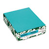 WAU21849 Astrobrights Colored Paper, 24lb, 8-1/2 x 11, Terrestrial Teal, 500 Sheets/Ream WAU 21849