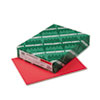 WAU22841 Astrobrights Colored Card Stock, 65 lbs., 8-1/2 x 11, Rocket Red, 250 Sheets WAU 22841