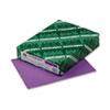 WAU22871 Astrobrights Colored Card Stock, 65 lbs., 8-1/2 x 11, Planetary Purple, 250 Shts WAU 22871