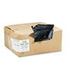 WBIRNW4850 Recycled Can Liners, 40-45 gal, 1.25 mil, 40 x 46, Black, 100/Carton WBI RNW4850