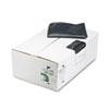 WBIRNW6060 Recycled Can Liners, 55-60 gal, 1.65 mil, 38 x 58, Black, 100/Carton WBI RNW6060
