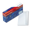 QUACO142 Grip-Seal Security Tint Business Envelopes, Side Seam, #10, White Wove, 45/Box QUA CO142