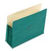 WLJ66G ColorLife 5 1/4 Inch Expansion Pocket, Straight Tab, Letter, Green, 10/Box WLJ 66G