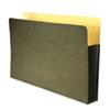 WLJWCC78RG Recycled File Pocket, Straight Cut, Legal, 3 1/2 Inch Expansion, Green WLJ WCC78RG