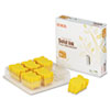 XER108R00748 108R00748 High-Yield Solid Ink Stick, 2333 Page-Yield, 6/Box, Yellow XER 108R00748