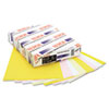 XER3R12430 Premium Digital Carbonless Paper, 8-1/2 x11, White/Canary/Pink/Gldrod, 1250 Sets XER 3R12430