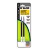 ZEB87012 JF Refill for Jimnie Gel RT/Sarasa/Z-Grip Gel Roller Ball, Med, BLK, 2/Pack ZEB 87012