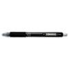 ZEB42410 Z-Grip Retractable Gel Pen, Black Ink. Medium, Dozen ZEB 42410