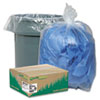 WBIRNW4615C Clear Recycled Can Liners, 40-45 gal, 1.5 mil, Clear, 100 per Carton WBI RNW4615C