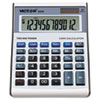 VCT6500 6500 Executive Desktop Loan Calculator, 12-Digit LCD, Black/Silver VCT 6500