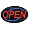 USS5583 Newon LED Sign, Red/Blue, 13 x 21 USS 5583