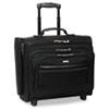 USLB644 Rolling Laptop Case/Overnighter, Ballistic Poly, 16-1/2 x 6.5 x 13, Black USL B644