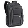 USLCLA7034 CheckFast Laptop Backpack, Ballistic Poly, 13 3/4 x 6 1/2 x 17 3/4, Black USL CLA7034