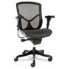 ALEEQA42ME10B EQ Series Ergonomic Multifunction Mid-Back Mesh Chair, Black Base ALE EQA42ME10B