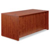 ALEVA216630MC Valencia Series Straight Front Desk Shell, 65w x 29-1/2d x 29-1/2h, Med Cherry ALE VA216630MC