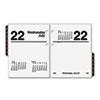 AT-A-GLANCE Compact Desk Calendar Refill