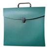 AUA10114 File N Go Portable File Box, Letter, Green AUA 10114