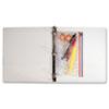 AVTANG51 Zip-All Ring Binder Pocket, 6 x 9 1/2, Clear AVT ANG51
