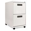 ALEPA542823LG Two-Drawer Mobile Pedestal File, 16w x 23-1/4d x 28-1/2h, Light Gray ALE PA542823LG