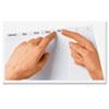 AVE11557 Index Maker Clear Label Punched Divider, 8-Tab, Letter, White, 50 Sets AVE 11557
