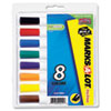 AVE24411 Desk Style Dry Erase Markers, Chisel Tip, Assorted, 8/Set AVE 24411