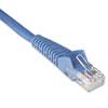 TRPN201001BL N201-001-BL 1ft Cat6 Gigabit Snagless Molded Patch Cable RJ45 M/M Blue, 1' TRP N201001BL