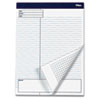 TOP77102 Docket Gold Planning Pad, Wide Rule, 8-1/2 x 11-3/4, White, 4 40-Sheet Pads/Pack TOP 77102