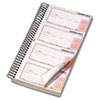TOP74620 Second Nature Phone Call Book, 2 3/4 x 5, Two-Part Carbonless, 400 Forms TOP 74620
