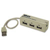 Tripp Lite 3-Port USB 2.0 Hub with Built-In File Transfer