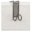 SAF4229BL Onyx Panel/Door Coat Hook, Steel SAF 4229BL