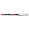 SAN60139 Vision Roller Ball Stick Waterproof Pen, Red Ink, Fine, Dozen SAN 60139