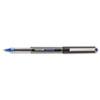 SAN60108 Vision Roller Ball Stick Waterproof Pen, Blue Ink, Micro, Dozen SAN 60108