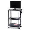 Safco AV Adjustable TV Cart