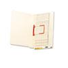 SMD34112 U-Clip File Folders, Straight Tab, Letter, Manila, 50/Box SMD 34112
