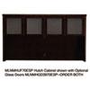 MLNMHUF70ESP Mira Series Veneer Assembled Hutch Frame, 70w x 14d x 39h, Espresso MLN MHUF70ESP