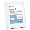 MACML1000B White All-Purpose Labels, 2 x 4, 2500/Box MAC ML1000B
