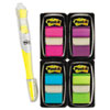 MMM680PPBGVA Flags Value Pack, Assorted Colors, 200 Flags & Free Highlighter w/50 Flags MMM 680PPBGVA