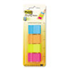 MMM672P1 Page Markers in Dispenser, Four Colors, 4 50-Flag Dispensers/Pack MMM 672P1