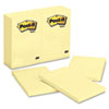MMM659YW Original Notes, 4 x 6, Canary Yellow, 12 100-Sheet Pads/Pack MMM 659YW