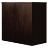MLNMWD3624ESP Mira Series Wood Veneer Wardrobe Unit, 34¾w x 24d x 38h, Espresso MLN MWD3624ESP