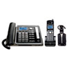RCA ViSYS 25270RE3 Two-Line Corded/Cordless Phone System with Cordless Headset