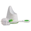 QCK57315 Lysol Toilet Brush and Caddy, Green QCK 57315