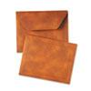 QUA89201 Designer Document Carrier, Expanding, Letter Size, 9 1/2 x 12, Brown QUA 89201