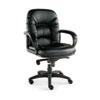 ALENI42CS10B Nico Mid-Back Swivel/Tilt Chair, Black ALE NI42CS10B
