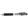 PENK437A WOW! Retractable Gel Pen, Black Ink, Medium, Dozen PEN K437A