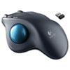 LOG910001799 M570 Wireless Trackball, Four Buttons, Scroll, Black/Blue LOG 910001799