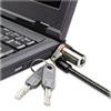 KMW64590 Microsaver DS Ultra-Thin Laptop Lock, Silver, Two Keys KMW 64590